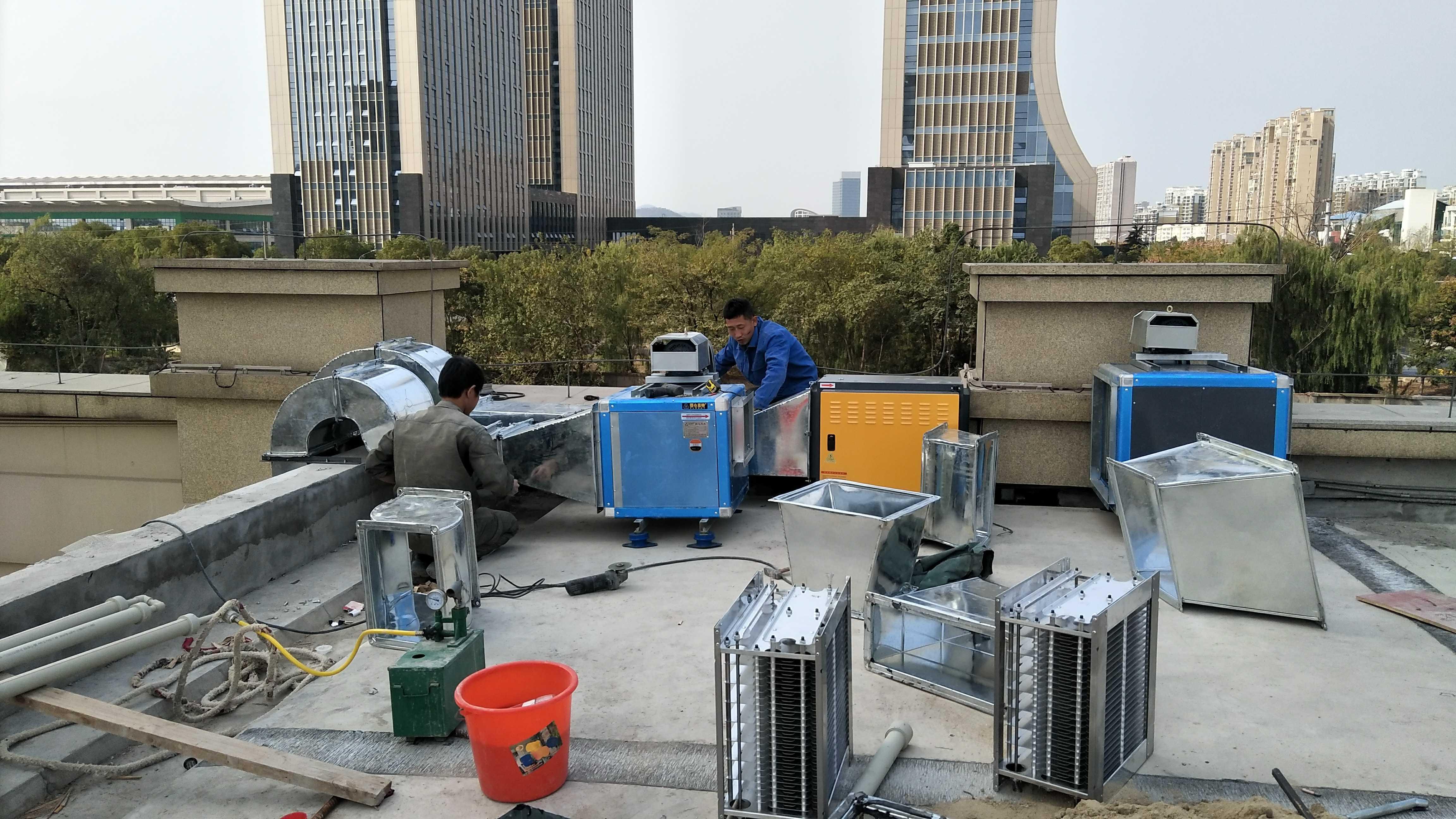 上海中央除尘环保工程设计