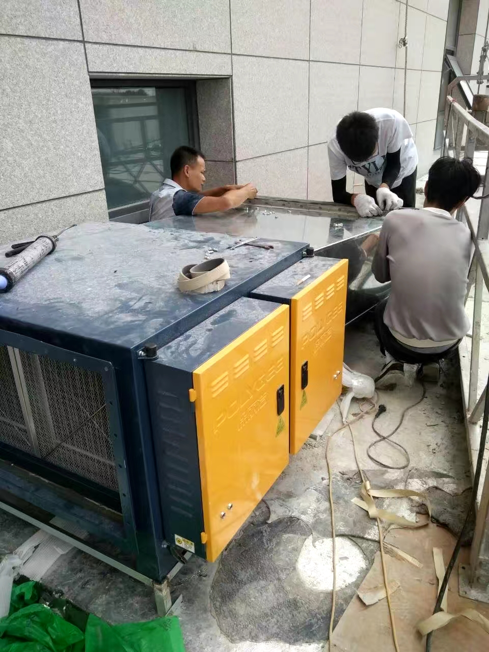 舟山油烟净化器安装