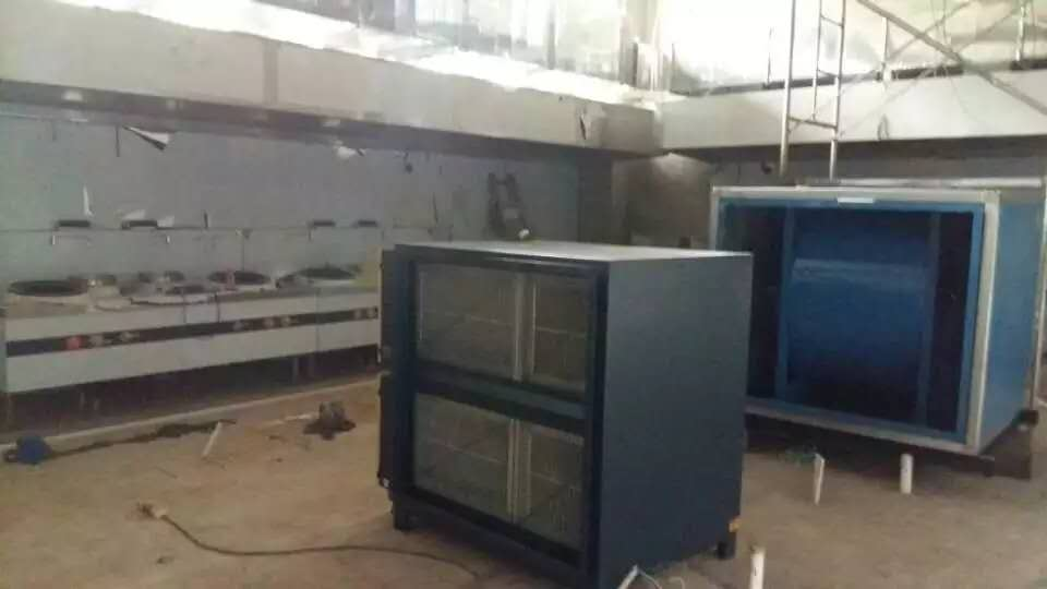 绍兴厨房排烟工程安装