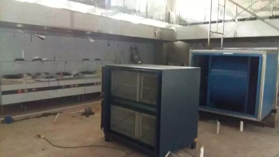 酒店厨房油烟净化器排烟工程
